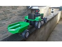 Kids tractor and trailer (new)