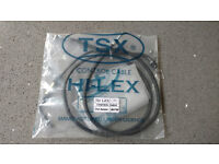 Honda Hornet 98-02 CB600F - Throttle cables (push and pull pair), new and unused for sale.