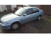 2001 Rover 45 1.8 petrol mot