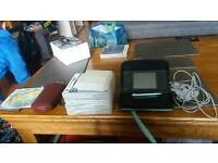 Ds and ccharger and 4 games travel case for games and console