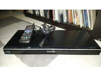 Panasonic Blu-Ray Disc Player. DMP-BDT120. GREAT CONDITION. PLEASE GOOGLE MODEL NUMBERS FOR SPECS