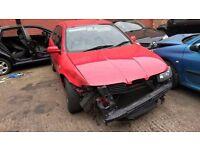 BREAKING 2002 02 SEAT LEON CUPRA 20V TURBO 103k 1.8 PETROL MANUAL 5DR RED 180BHP
