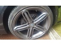 "AUDI alloy 19"" 5x112 need refurb"