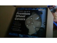 WHEEL COVER HUB COVER 15 INCH SET OF 4