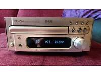 Denon micro RCD-M35 dab cd eceiver unit & SC-M73 speakers & Remote