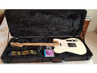 Telecaster Guitar and Hard Case