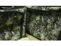 Tapestry suitcases 28inch pair m&s