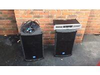 Speakers & Amplifier DJ Audio / NJD 600W 4ohms