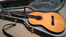 1960s Alhambra Spanish Acoustic Guitar in Hard-case