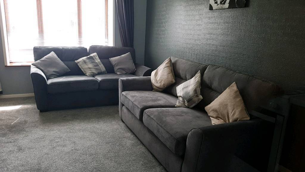 Nearly New Dfs 3 Seater Sofas In County Antrim Gumtree
