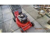 FLYMO HEAVY DUTY PETROL LAWNMOWER