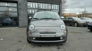 2013 FIAT 500C CONVERTIBLE - CUIR ROUGE - BLUETOOTH