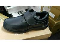 Brand new wide fit black shoes