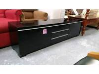 Black gloss and mirror furniture items