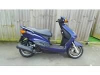 Yamaha Cygnus 125 scooter