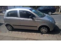 CHEVROLET MATIZ 995CC SEPTEMBER 2006 MANUAL 5-DOOR SILVER 80K
