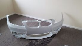 1m e90 front bumper with fog lights