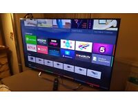 """SONY 55"""" 3D 4K Smart LED ANDROID TV-55X8509, built-in Freeview & Freesat HD,YOUVIEW,GOOD Condition"""