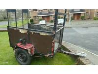 Car trailer (garden, quad, lawnmower)