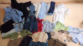 Boys age 3 - 6 months clothing bundle