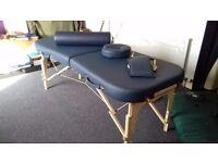 Beatiful blue delux Massage table