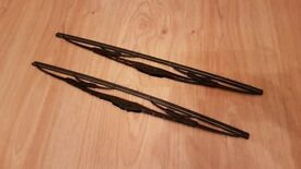 New Auto-XS Windscreen Wiper Blades - Fits a Wide Range of Car Makes and Models