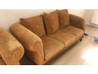 one 3 seater sofa and one 2 seater sofa GOING CHEAP