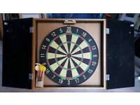 dartboard and case