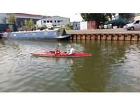 Twin kayak