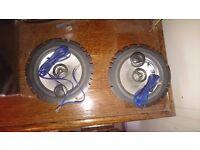 Alpine SXE 1725S car speakers with tweeters