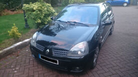 Renaultsport clio 172 182 197 200 cup fast road track race sprint hill climb tuned modified remapped