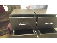 Ikea bed side cabinets for sale