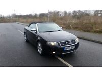 2006 55 audi a4 convertible 1.8t S line Quattro 163 bhp 6 speed 1