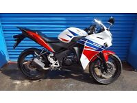 2015 HONDA CBR125 R VANDALISM DAMAGE CAN DELIVER 8717 MILES