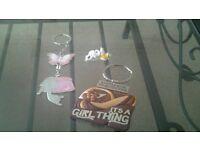 Set of key rings