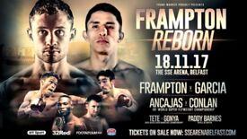 Frampton reborn tickets x2