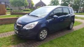 Vauxhall Meriva 1.7 CDTI Exclusive 2011