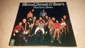 BLOOD SWEAT & TEARS THE FIRST ALBUM ORIGINAL UK CBS PRESSING blues rock