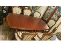 Urgent sale dining table and chairs