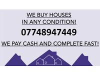 WE BUY HOUSES FOR CASH _ QUICKLY!