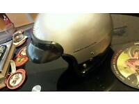 Cromwell Harley Davidson peanut motorcycle helmet
