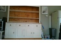 lovely pine kitchen dresser