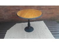 Large cast iron pub/dining/cafe,table