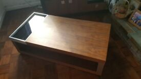 Large coffee table and side table