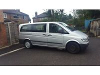 Mercedes Vito Minibus Ex Private Hire Vehicle Manchester