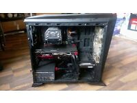 650!!! Top end custom gaming pc,monitor and keyboard and mouse