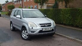 HONDA CRV 2L PETROL AUTOMATIC++FULL LEATHER INTERIOR++F/S/H++1 LADY OWNER SINCE NEW++