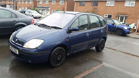 Renault Scenic 1.9 Diesel with low mileage and fresh MOT or swap with a small engine car