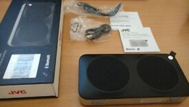 Portable wireless speaker with nfc one touch pairing