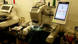Brother PR650 & PR620 embroidery machines